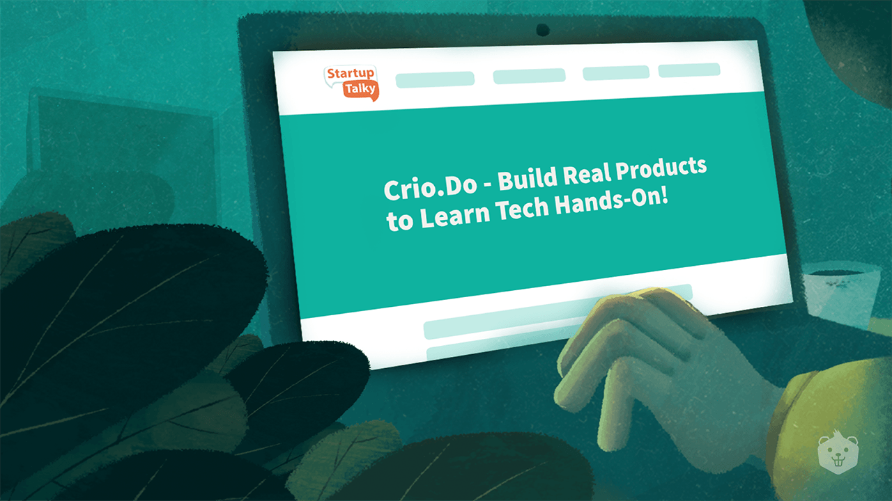 Crio featured in StartupTalky